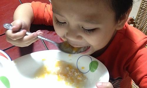红薯小米粥的做法
