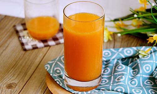 鲜橙胡萝卜汁的做法