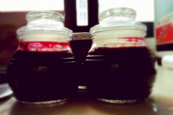 家庭自制蓝莓酱的做法
