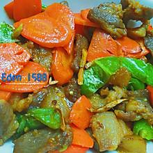 胡罗卜辣椒炒猪肉