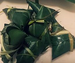 红豆糯米粽子的做法