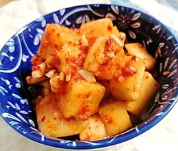 韩国泡菜—泡萝卜的做法