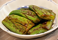 健康低卡家常菜—虎皮青椒的做法