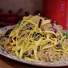 温州炒粉干(细米粉)