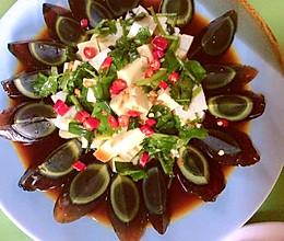 #我们约饭吧#皮蛋豆腐的做法