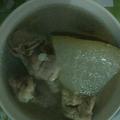 汤水系列之~薏米冬瓜猪骨汤