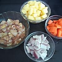 ——咖喱土豆鸡丁#12道锋味复刻#的做法图解2
