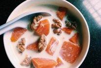 木瓜炖奶的做法