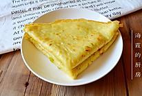 鸡蛋土豆丝饼#急速早餐#的做法