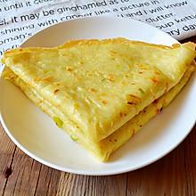 鸡蛋土豆丝饼#急速早餐#