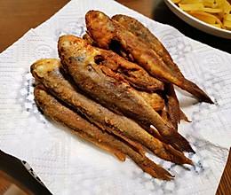 外焦里嫩de干炸小黄鱼的做法