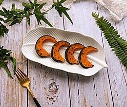 #硬核菜谱制作人#黑胡椒烤南瓜的做法