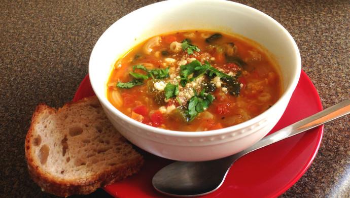 意式经典——香浓菜汤 Minestrone Soup