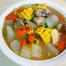冬瓜排骨玉米汤