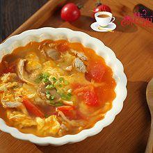 番茄平菇蛋花汤