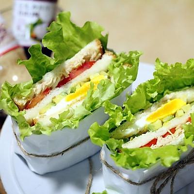 丘比营养三明治