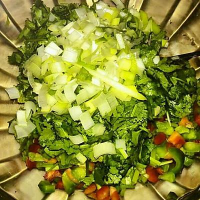 青红椒腌蒜茄子的做法 步骤4