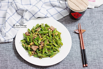 四角豆(龙豆)炒肉#春季食材大比拼#