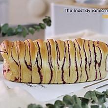 香甜紫薯手撕面包