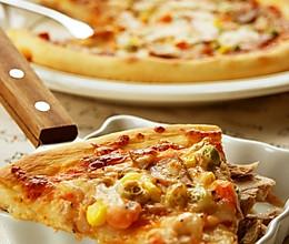 金枪鱼Pizza的做法