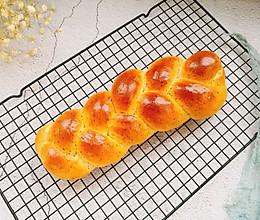 红茶奶酥辫子面包的做法
