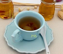 冬季暖胃,龙眼枸杞姜茶的做法