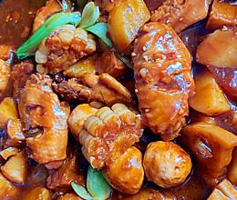 #我们约饭吧#在家就可以做的三汁焖锅的做法