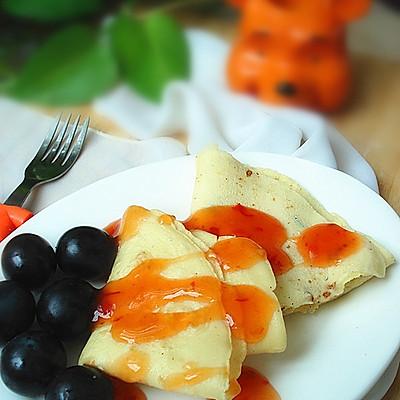 十分钟打造健康早餐鸡蛋饼