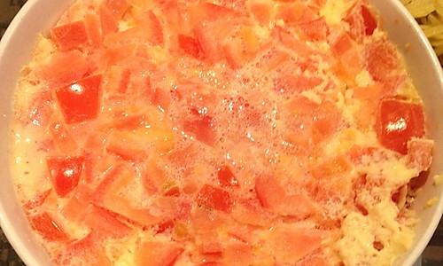 番茄蒸蛋的做法