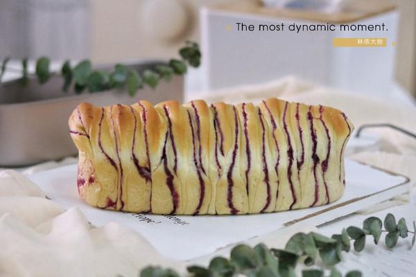 香甜紫薯手撕面包的做法