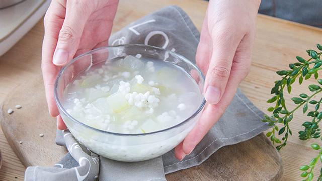 冬瓜薏米水的做法