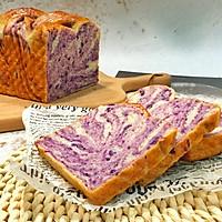 手撕紫薯吐司(一次发酵无需出膜)的做法图解18