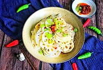 #相聚组个局#开胃爽口的辣炒藕片的做法