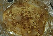 锡纸葱头金针菇(超级简单)的做法