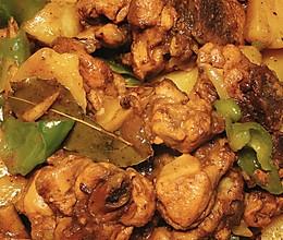 红烧鸡腿炖土豆的做法