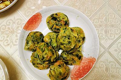 减脂餐—蔬菜丸子