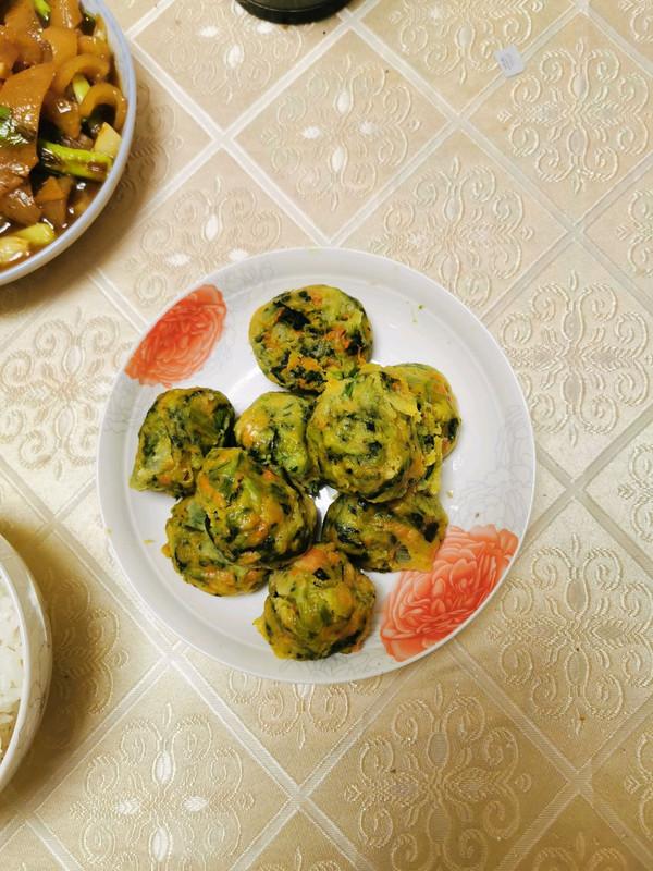 减脂餐—蔬菜丸子的做法