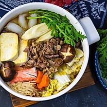 深夜食堂一人食之日式寿喜锅