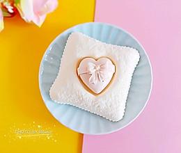 爱心抱枕慕斯蛋糕的做法