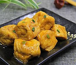简单易学 软嫩多汁的家常豆腐泡酿肉的做法