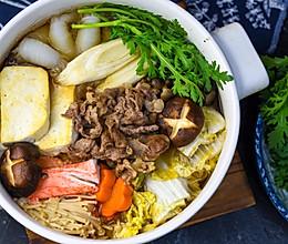 深夜食堂一人食之日式寿喜锅的做法