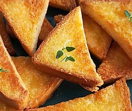 烤面包片~酥脆可口,做法太简单了的做法