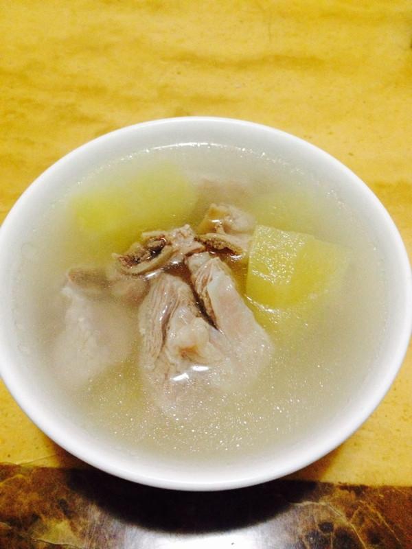 苹果排骨汤--冷风中的浪漫奇遇的做法