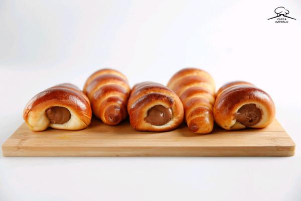 巧克力海螺面包