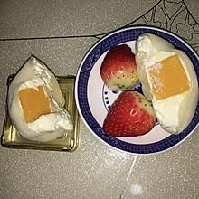 草莓雪媚娘+芒果雪媚娘