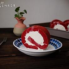 红丝绒蛋糕卷#跨界烤箱 探索味来#