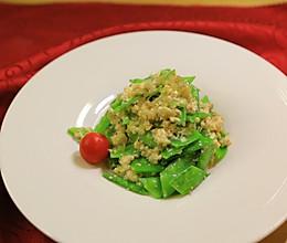 【拜托了冰箱第六季】安贤珉-凉拌豆腐荷兰豆的做法