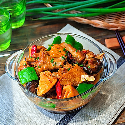 鲜香滑嫩的超级经典下饭菜【黄焖鸡】