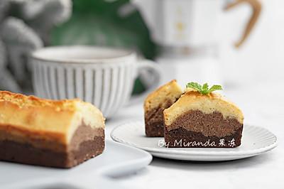 巧克力渐变磅蛋糕