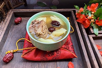 #母亲节,给妈妈做道菜#电饭煲版鸽子山药汤